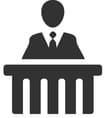 Witness Testimony Icon
