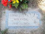 Gravestone of Ernesto Miranda